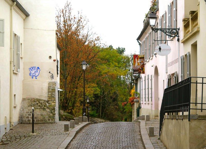 Montmartre chocolate pastry walk rue Cortot