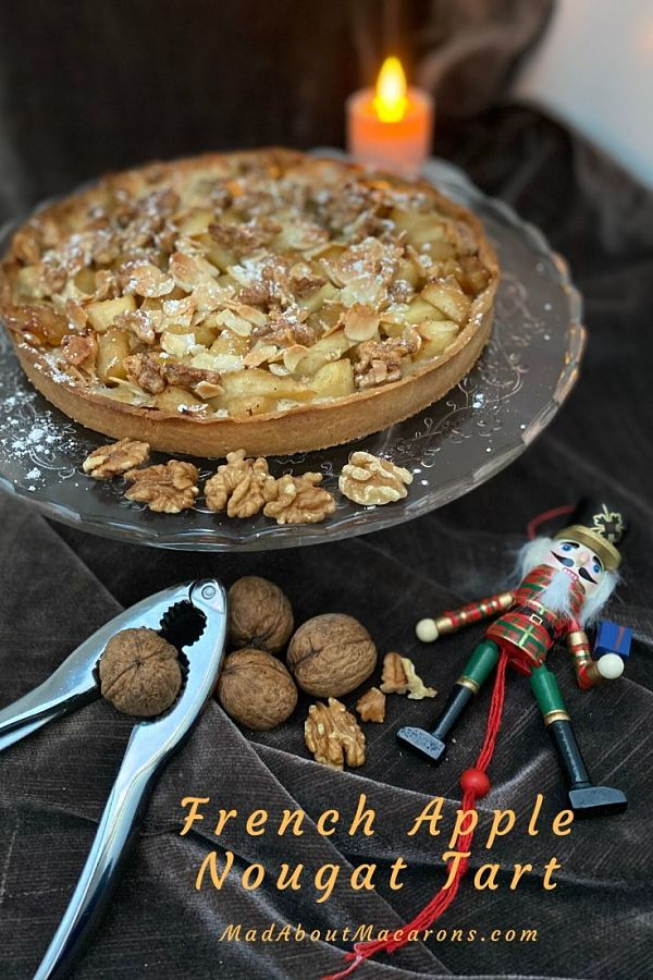 French Apple Nutcracker Tart