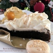 Reine de Saba Chocolate Almond Cake