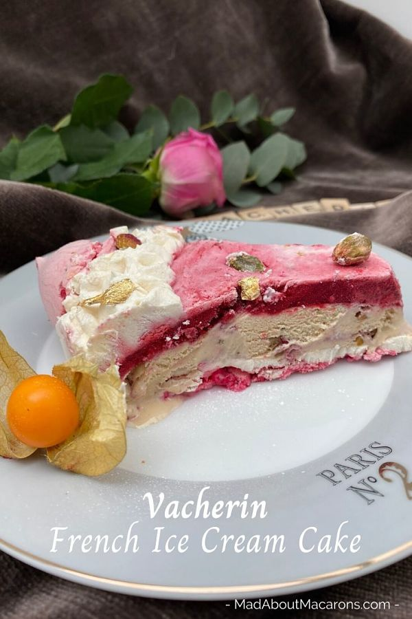 Vacherin French Ice Cream Cake