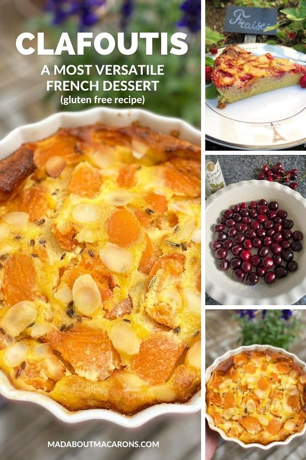 French Clafoutis fruit variations
